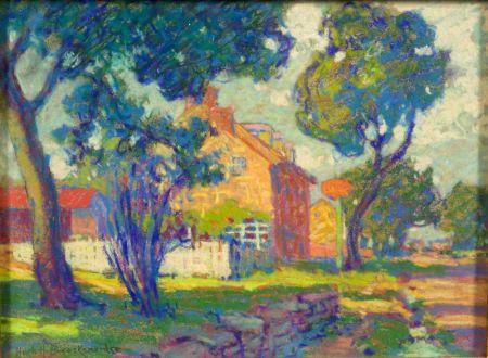 Hugh Henry Breckenridge (American, 1870-1937)    The Wayside Inn