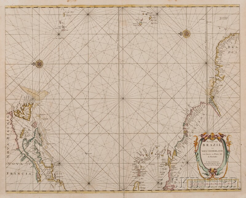 (Maps and Charts, South America), Doncker, Hendrick