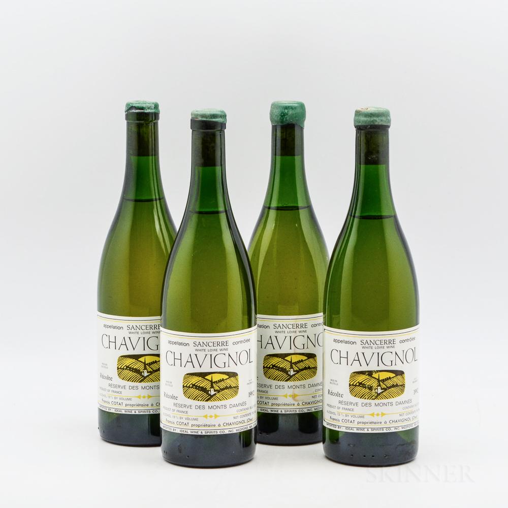 Francis Cotat Chavignol Reserve des Monts Damnes 1992, 4 bottles