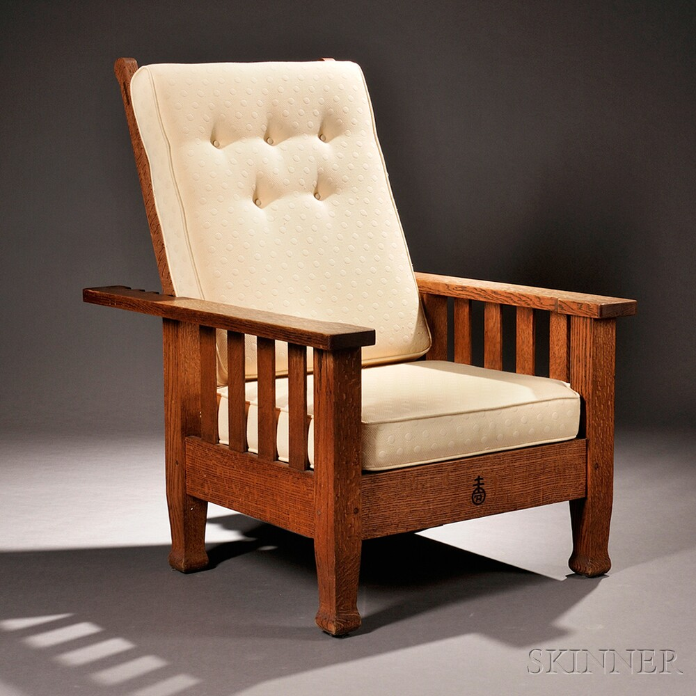 Roycroft Arts U0026 Crafts Morris Chair