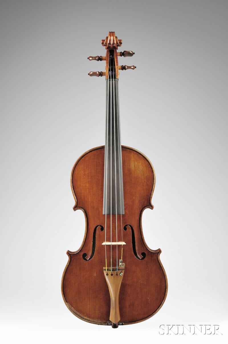 Italian Violin, c. 1920,  attributed to the Romeo Antoniazzi Workshop
