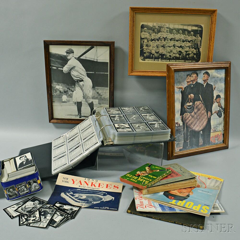 Large Group of Sports Memorabilia and Ephemera