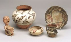 Five Southwest Pottery Items
