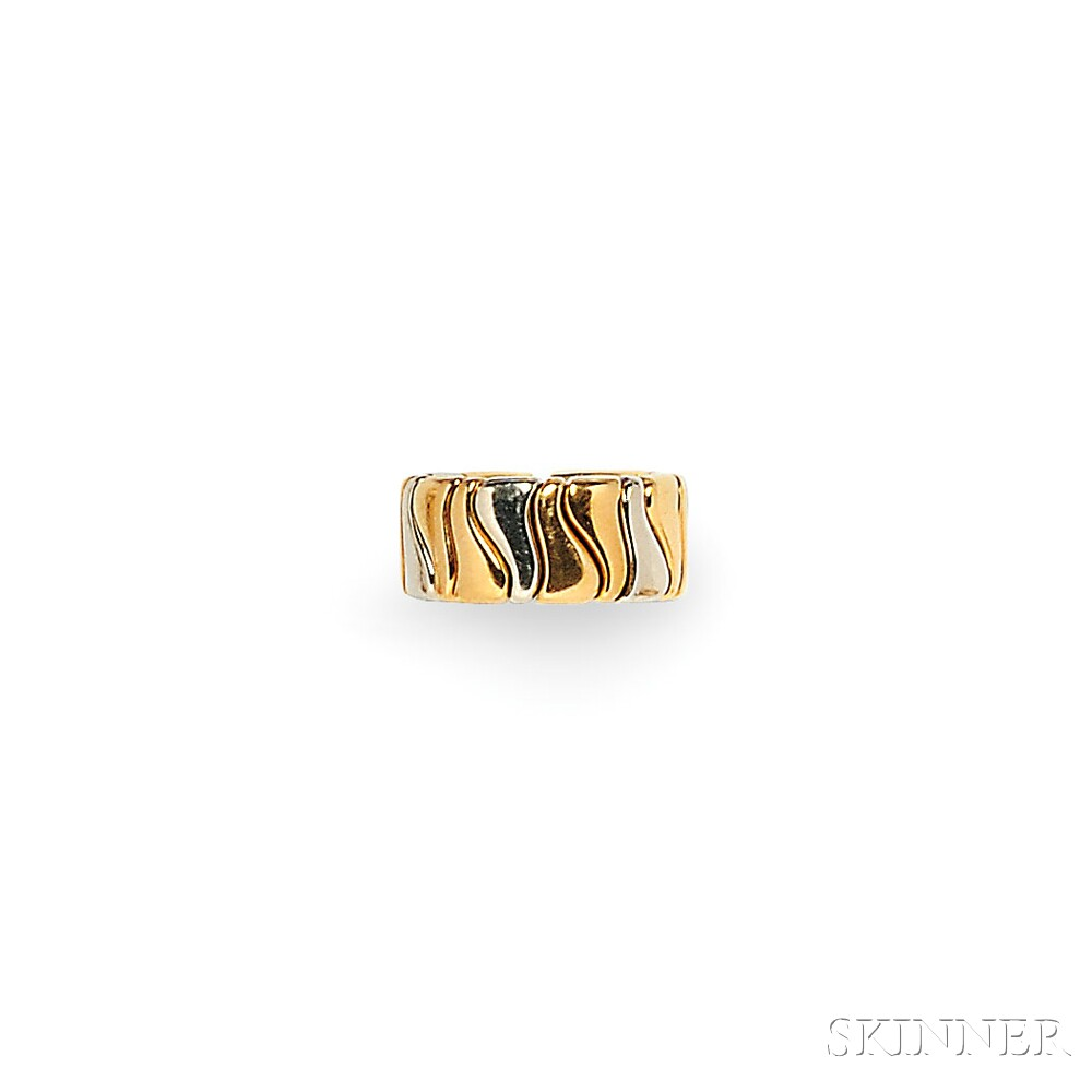 18kt Bicolor Gold Ring, Marina B.