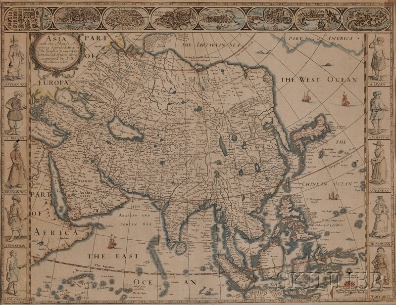 (Maps and Charts, Asia)