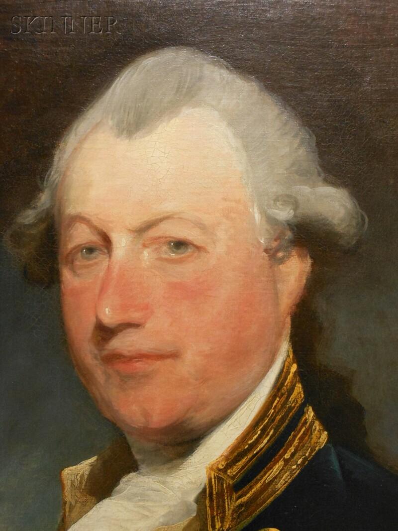 Gilbert Stuart (American, 1755-1828)      Captain John MacBride (c. 1735-1800)