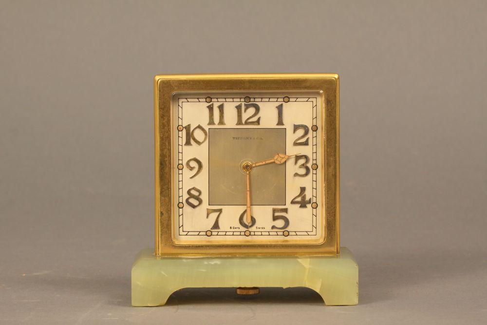 Tiffany & Co. Partner's Desk Clock