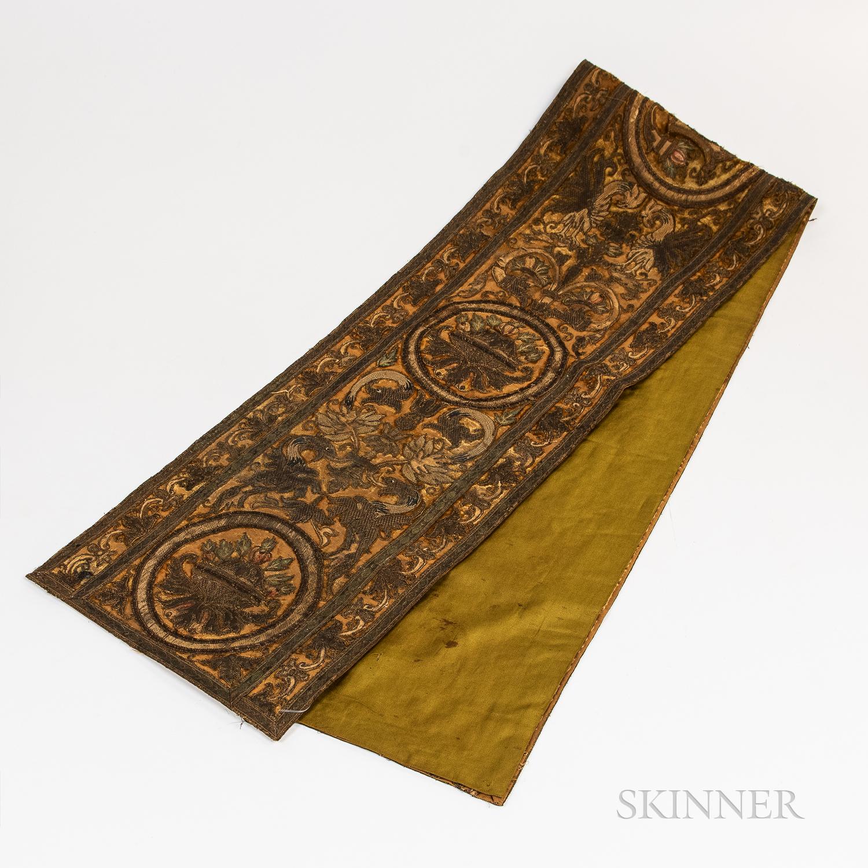 Florentine Velvet Embroidery