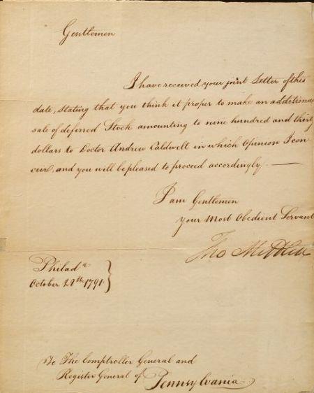 Mifflin, Thomas (1744-1800)