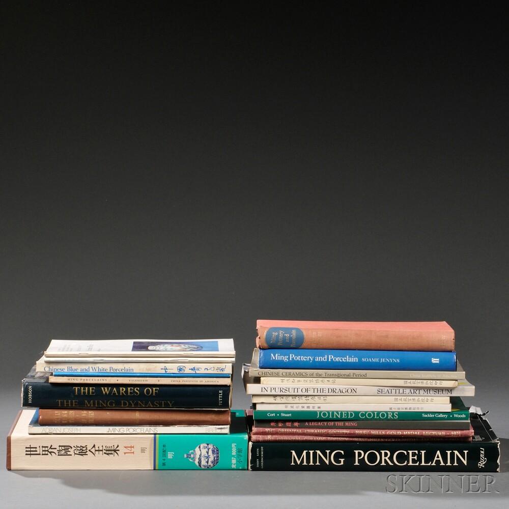 Twenty-two Books on Chinese Ceramics