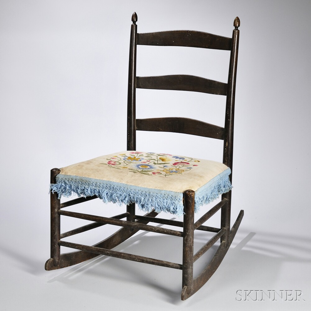 realized price for shaker production 4 rocking chair