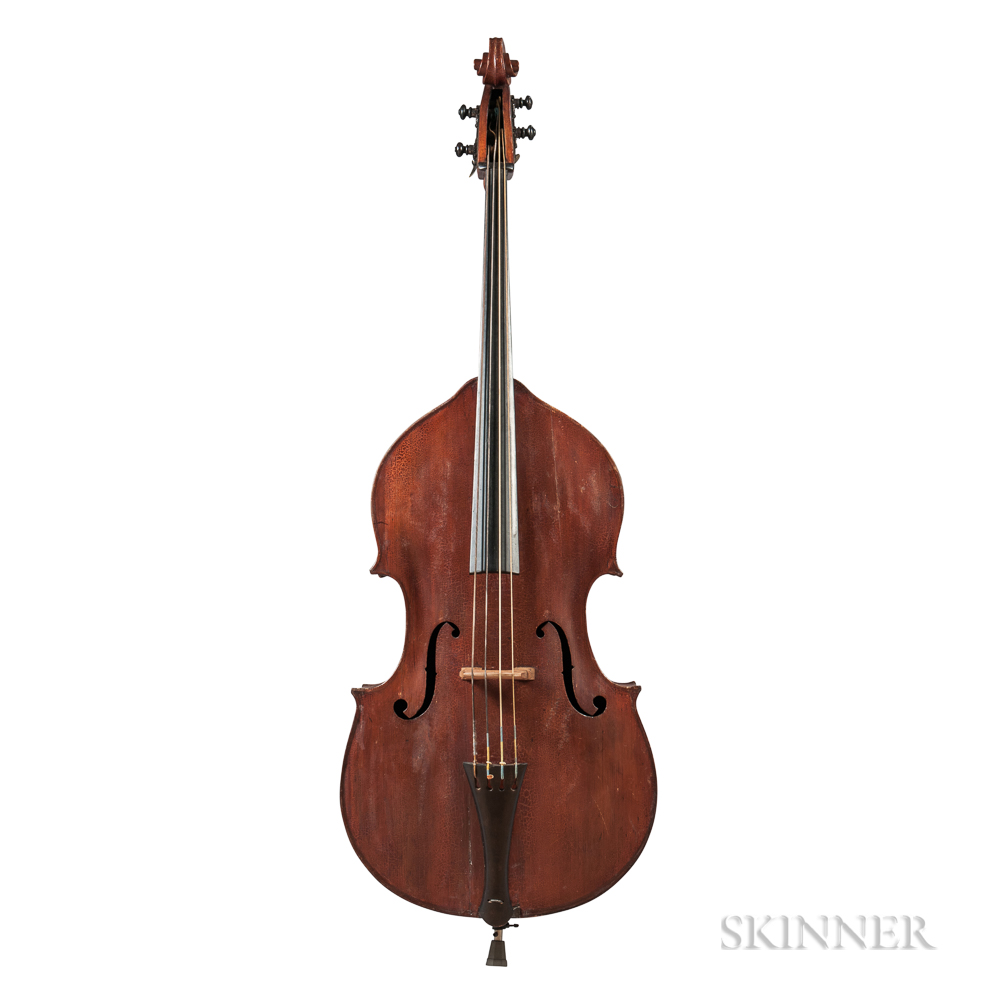German Contrabass, c. 1880
