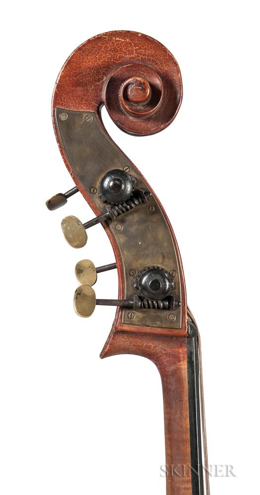German Contrabass, c. 1880