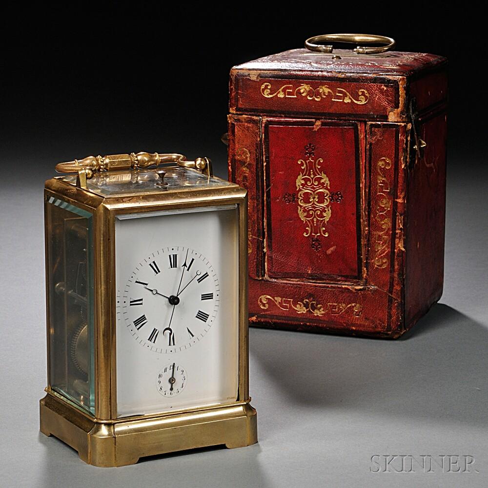 M & S Woog Carriage Clock