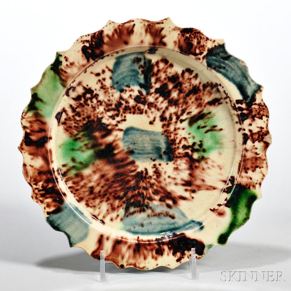 Cream-colored Earthenware Dish