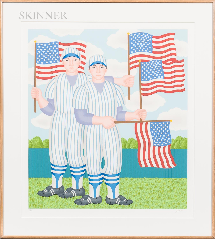 Gerald Drexler Garston (American, 1925-1994)      Stars & Stripes