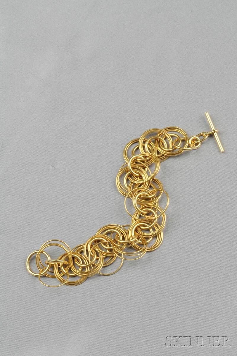 18kt Gold Bracelet, Hermes