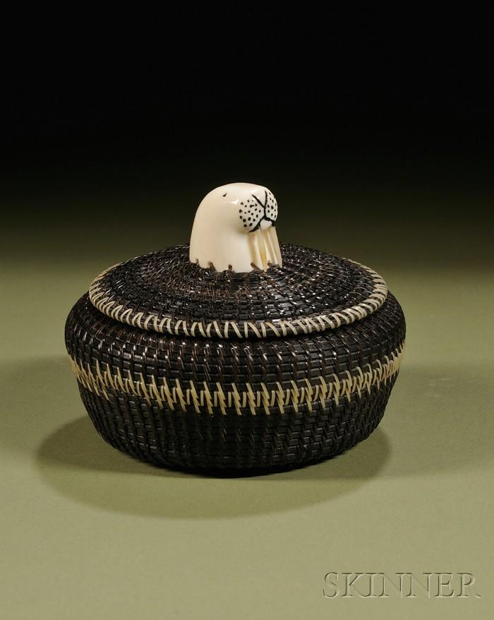 Eskimo Baleen Basket