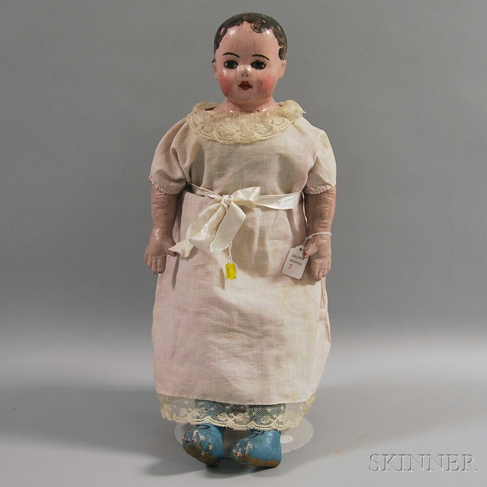 Alabama Cloth Molded Face Doll