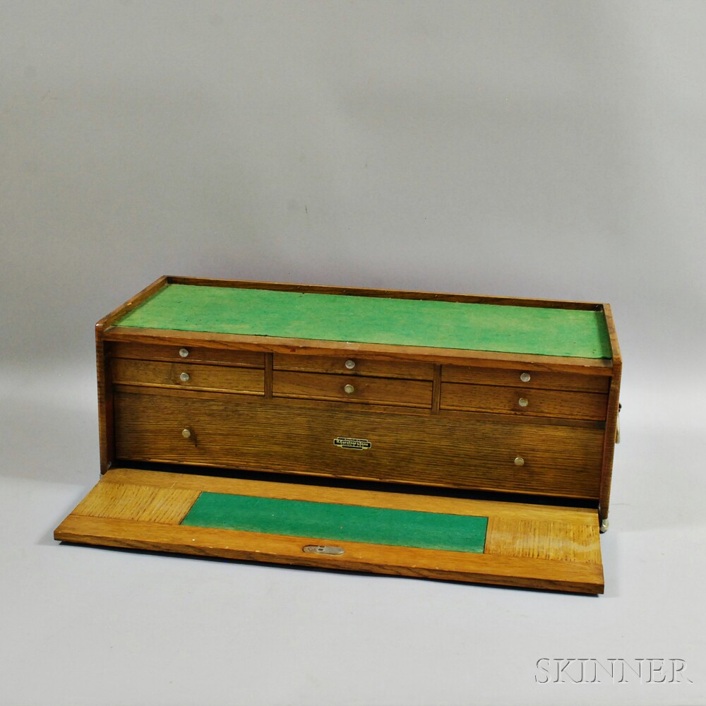 H. Gerstner & Sons Watchmaker's or Machinist's Tool Chest