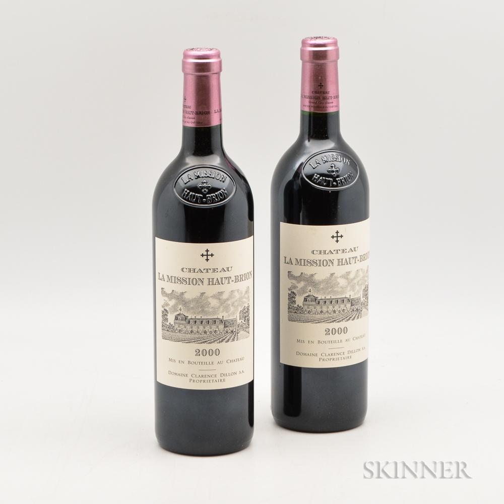 Chateau La Mission Haut Brion 2000, 2 bottles