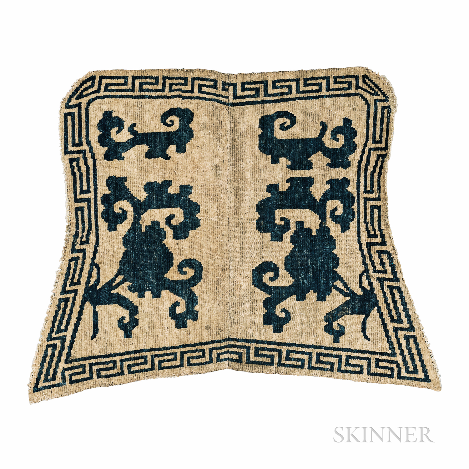 """""""Butterfly"""" Saddle Rug"""