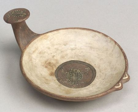 Pre-Columbian Polychrome Pottery Dish