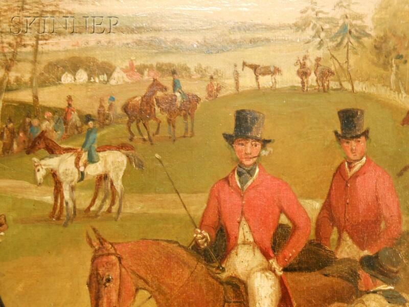 Henry Thomas Alken (British, 1785-1851)      The Meet