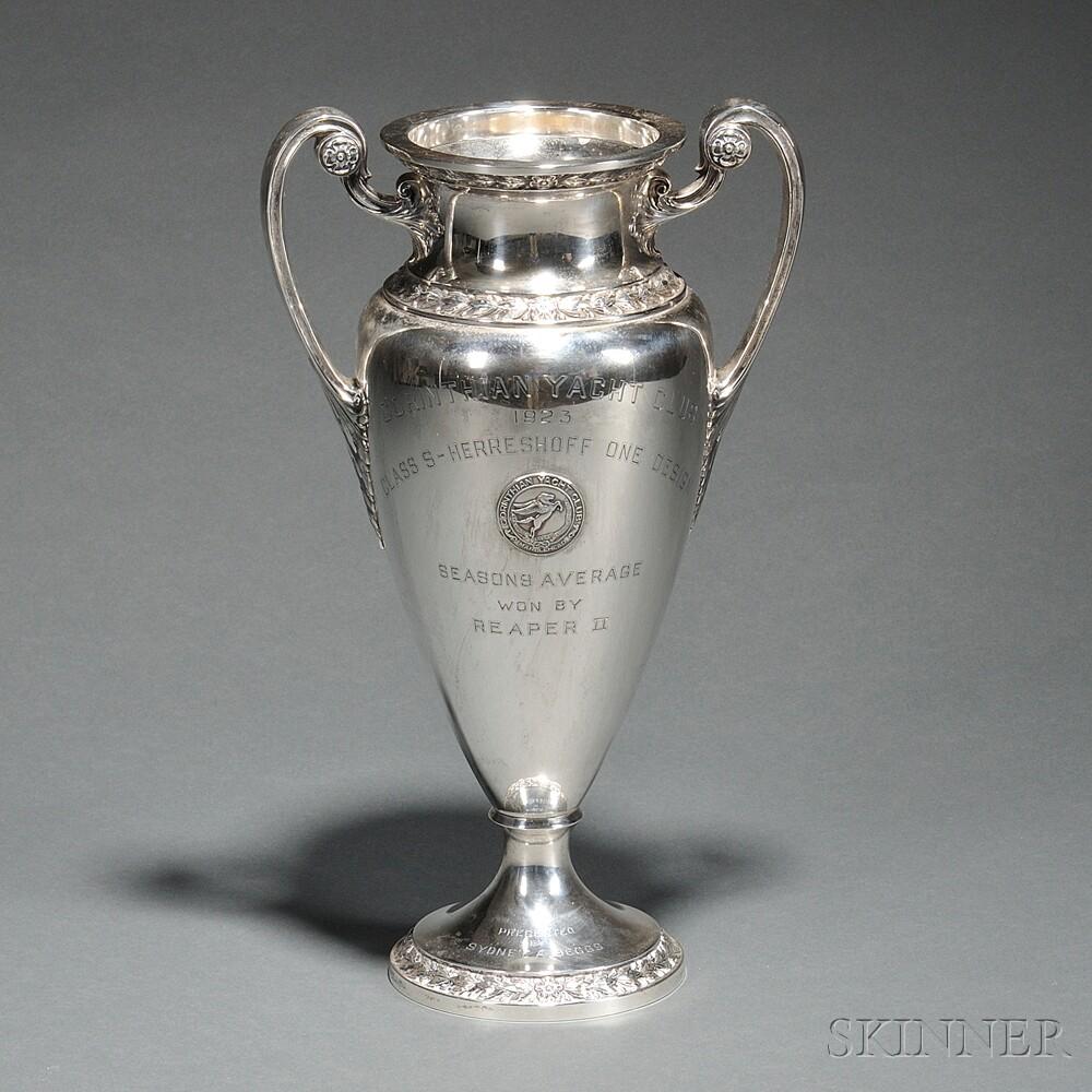 Gorham Sterling Silver Corinthian Yacht Club Trophy