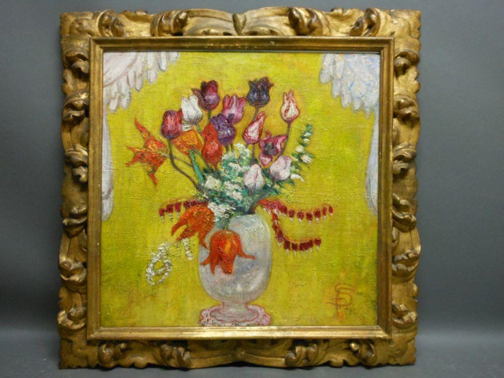 Florine Stettheimer (American, 1871-1944)      Floral Still Life