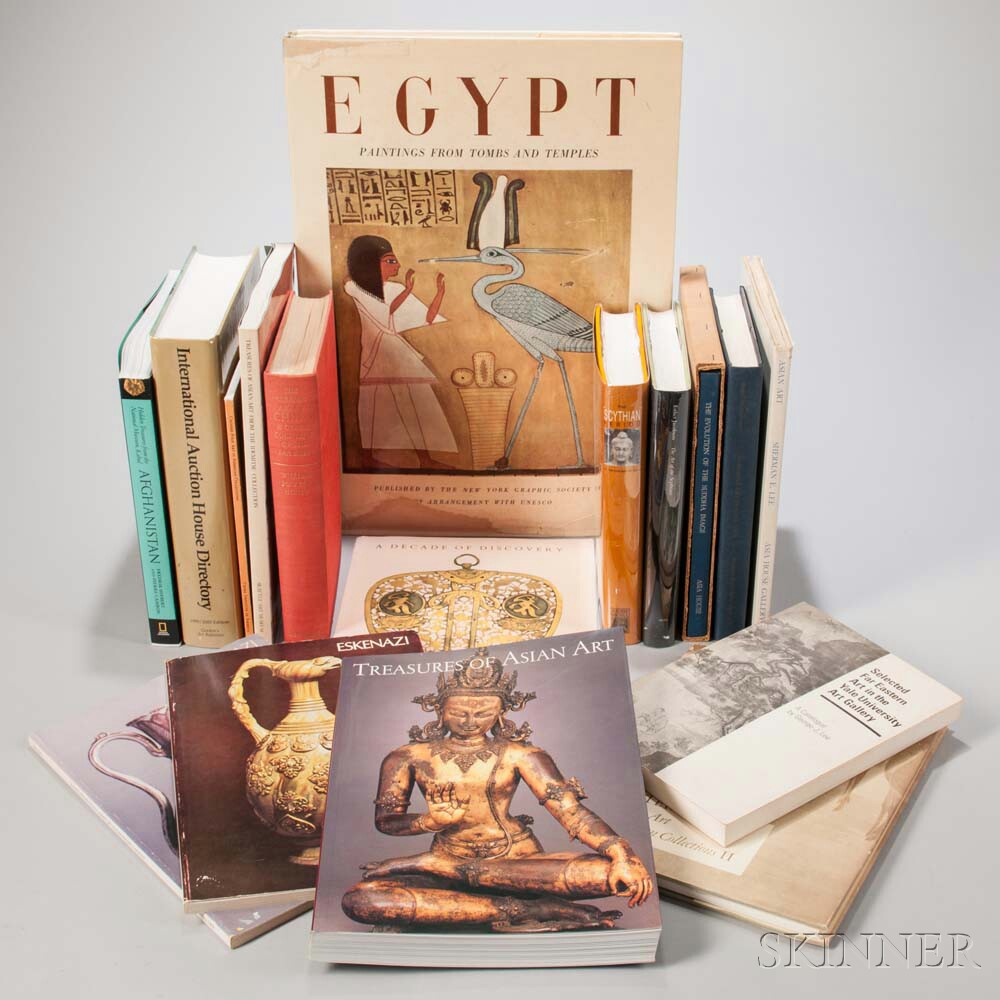 Seventeen Books on Asian and West Asian Art