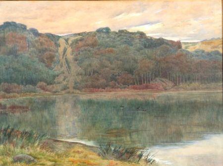 J. Ambrose Prichard (American, 1858-1905)    Solitude