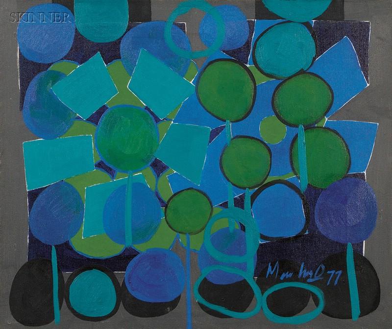 Richard Membrino (American, b. 1947)      Night Music