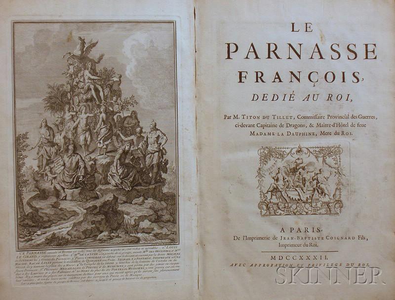 (French Historical Notables), Titon du Tillet, Evrard (1677-1762)