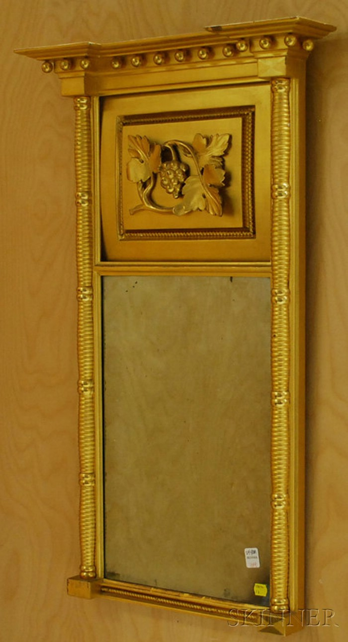 Classical Giltwood Tabernacle Mirror