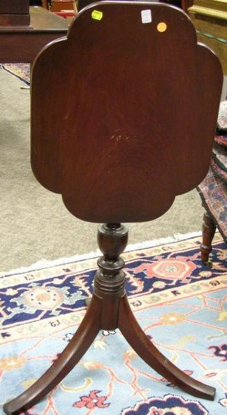 Mahogany Candlestand.