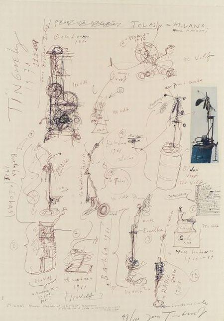 Jean Tinguely (Swiss, 1925-1991)  Iolas