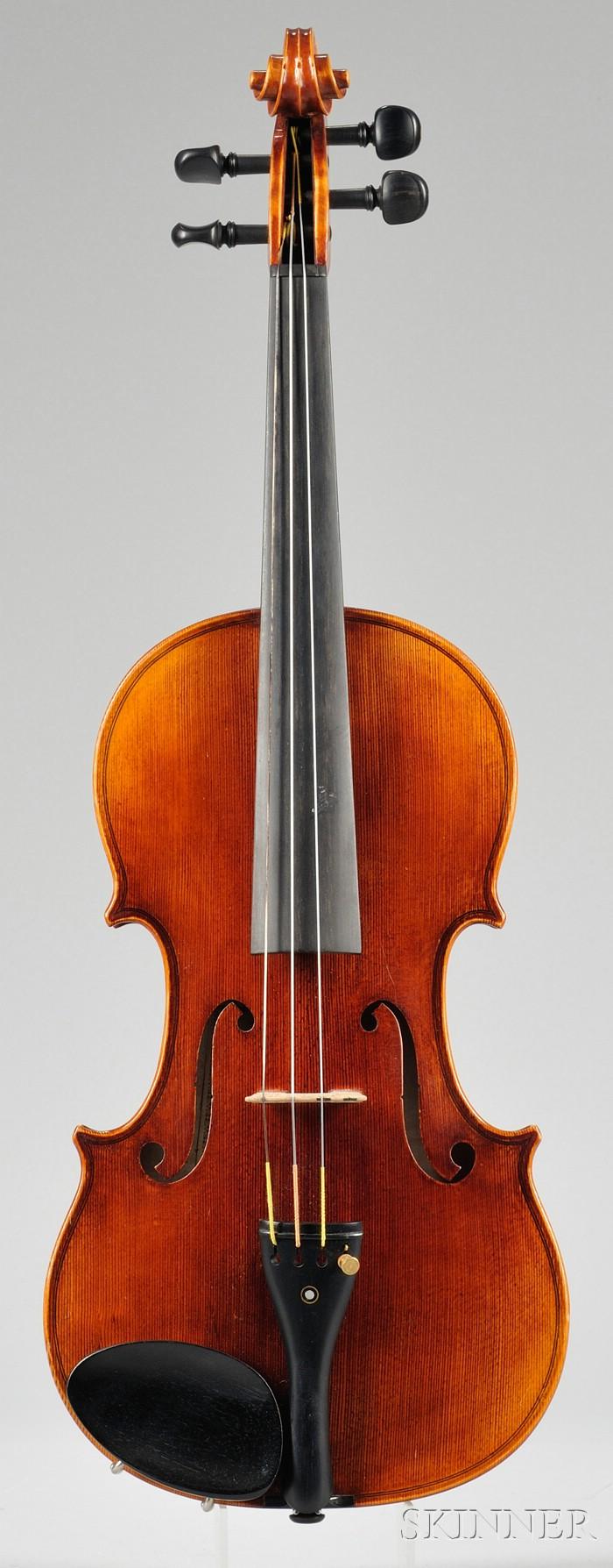 Modern Violin, Wenzel Fuchs, Erlangen, 1971