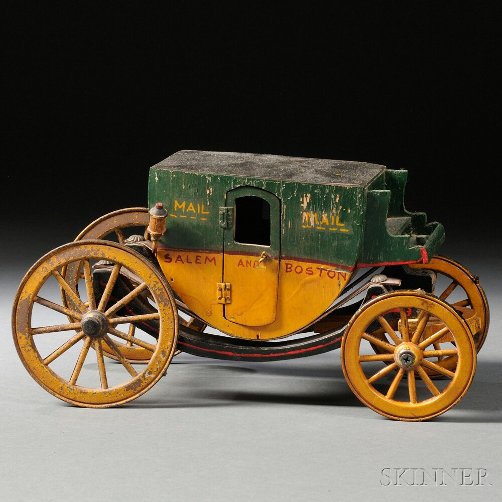 Salem and Boston Mail Coach Toy