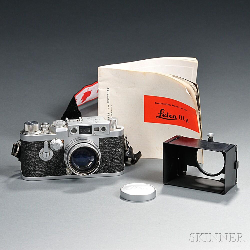Leica Model IIIg Body and Lens