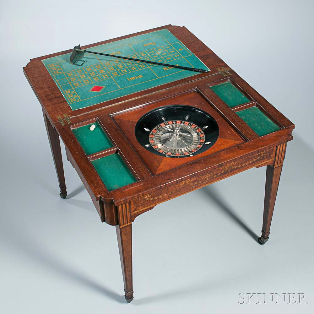 Inlaid Games Table