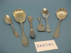 Miscellaneous American and English Sterling Silver and Coin Flatware.