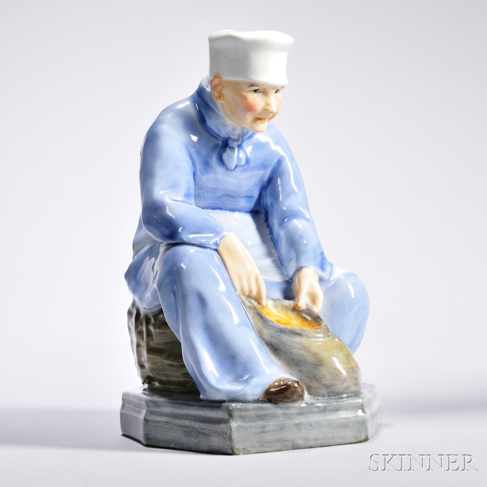 Royal Doulton Picardy Peasant   Figure