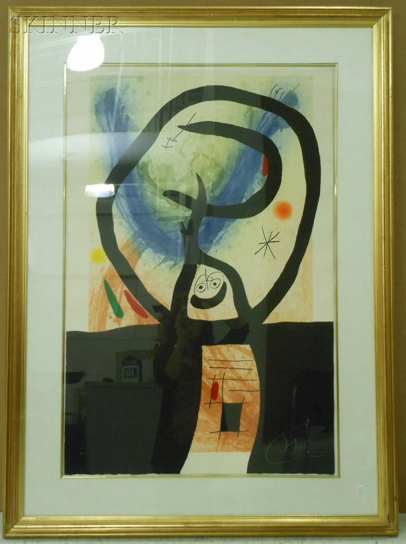 Joan Miró (Spanish, 1893-1983)      La Fronde