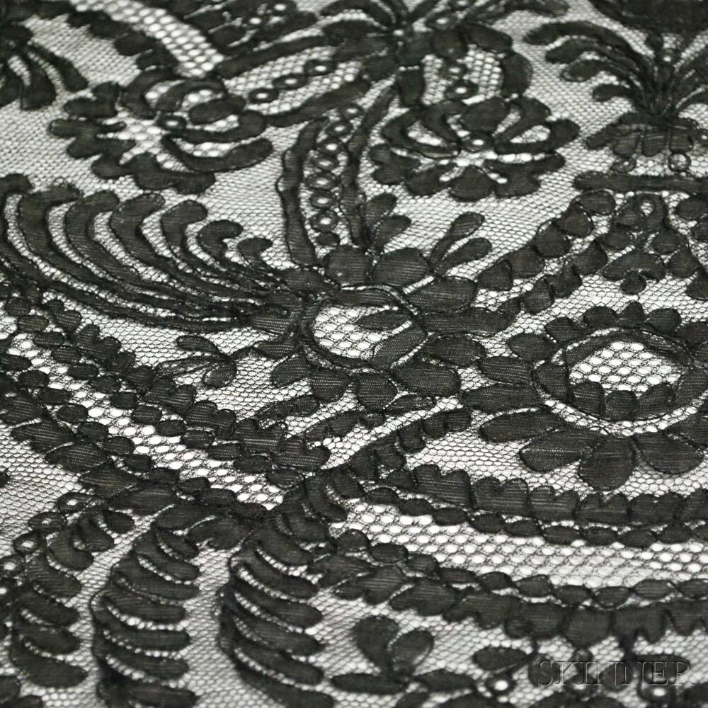 Six Black Lace Articles