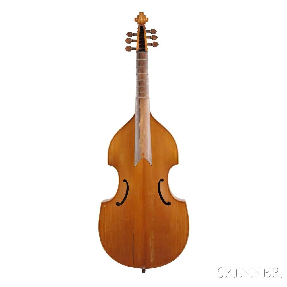 Bass Viola da Gamba, Domingos F. Capela, Anta Espinho, 1969