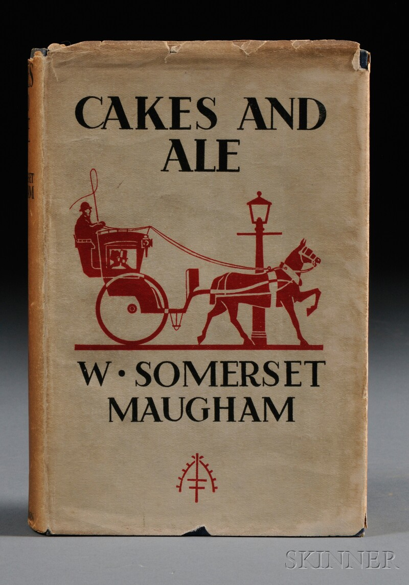 Maugham, W. Somerset. (1874-1965) Cakes and Ale