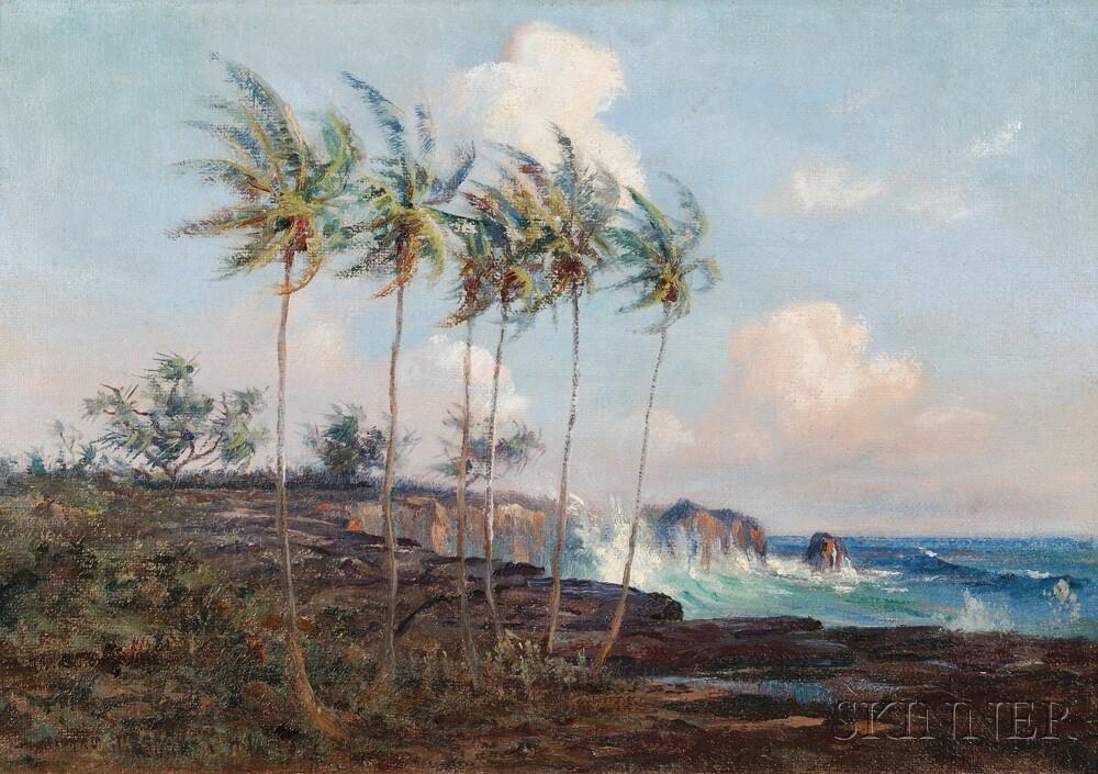 David Howard Hitchcock (American, 1861-1943)      Big Island of Hawaii