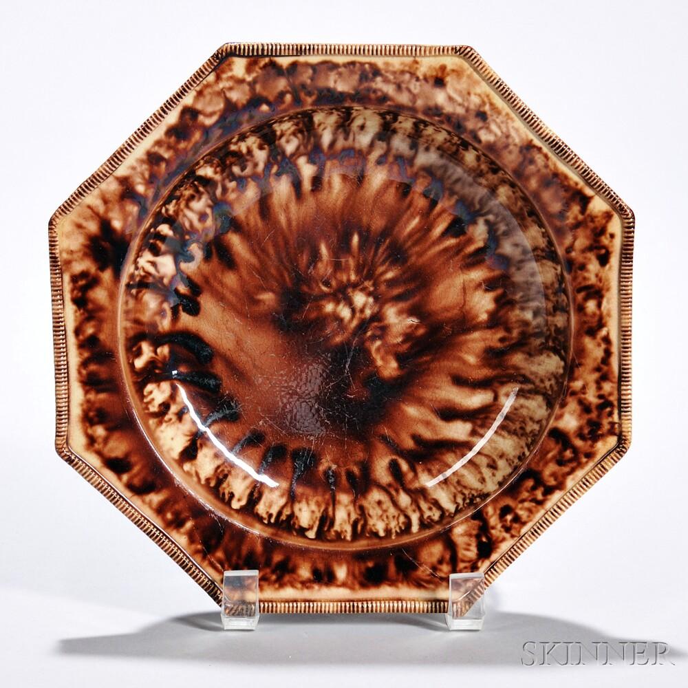 Lead-glazed Earthenware Soup Plate