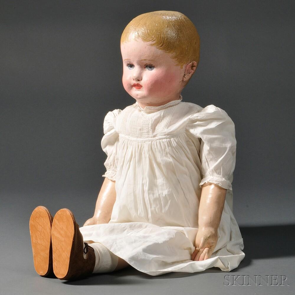 Large Martha Chase Cloth Stockinet Doll